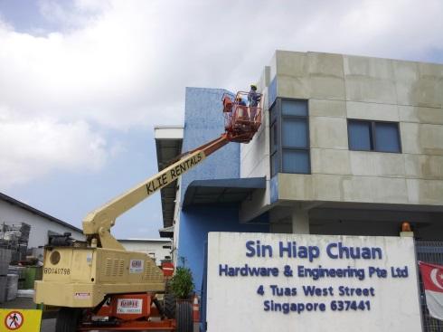 Facade Repair at Tuas West Street