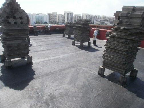 Roof Leakage Repair at Hougang HDB Estates