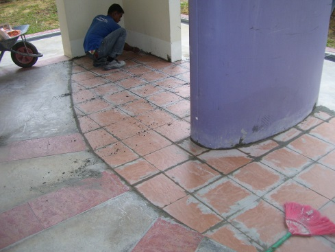 Tiling Works at Anchorvale HDB Estates